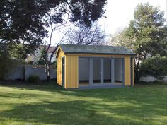 Classeco garden studio with dedicated storage room to side as replacement for existing garden shed. Description from ecospace.ie. I searched for this on bing.com/images