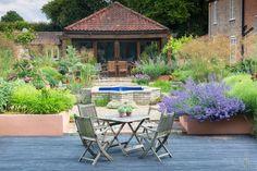 Garden & Landscape Design London by Adolfo Harrison Gardens Garden Landscape Design, Garden Landscaping, Outdoor Furniture Sets, Outdoor Decor, Apple Tree, Oak Tree, Botanical Gardens, Islamic, Terrace