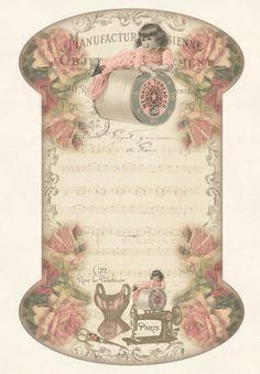 beautiful thread card