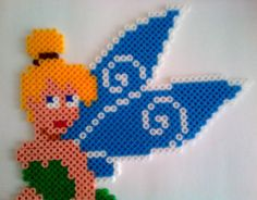 Tinkerbell Wall/Door Decoration hama perler beads by akashalondon