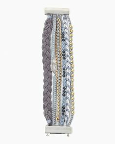 Mixed Metals Magnetic Bracelet | Fashion Jewelry | charming charlie