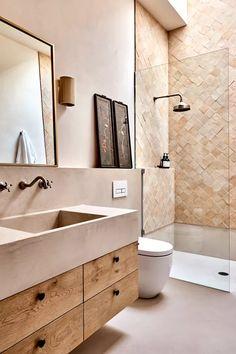 Bathroom Design Inspiration, Modern Bathroom Design, Bathroom Interior Design, Bathroom Designs, Design Ideas, Modern Luxury Bathroom, Modern Bathrooms, Dream Bathrooms, Design Trends