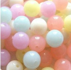 wholesale-mix  Mixed Color Big Chunky Gumball Bubblegum Acrylic Jelly Beads ,by weight 6mm to 20mm.free shipment!! $12.20