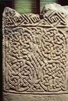 Collieburn Stone, Pictish / Dunrobin Castle Museum, Golspie, Scotland. The Picts were a Late Iron Age and Early Medieval Celtic people living in ancient eastern and northern Scotland.