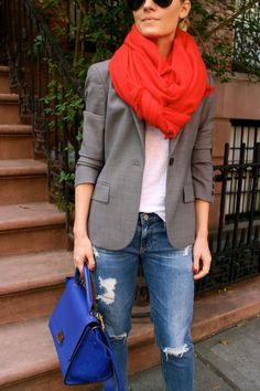 lillyandleopard: via Wear A Wishbone Casual Chic Style, Preppy Style, Girl Fashion, Fashion Looks, Fashion Outfits, Estilo Preppy, Fashion Leaders, Preppy Girl, Vogue