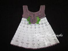 Materiales gráficos Gaby: Vestido de bebè