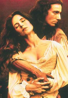 Madeline Stowe and Daniel Day Lewis-The Last of the Mohicans. One of my favorite movies... They are both so hot!