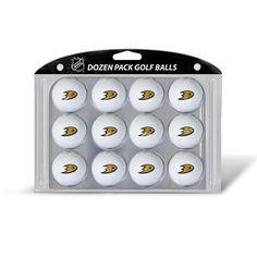 Anaheim Ducks NHL Dozen Ball Pack