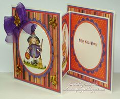 cute fold out card - bjl
