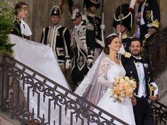 Sweden's prince marries.