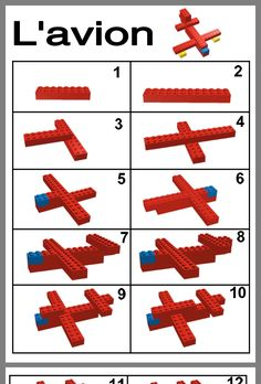 Kinderspellen - Apocalypse Now And Then Lego Basic, Lego Duplo, Avion Lego, Instructions Lego, Lego Therapy, Lego Friends Birthday, Modele Lego, Lego Challenge, Bullet Journal