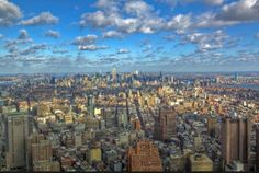 Surreal views form the top of One World Trade Center.