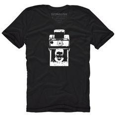 Elvis Polaroid Tee Black