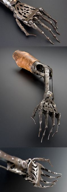Victorian artificial arm form the 1800s  ---