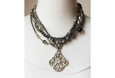 One Kings Lane - Sheer Addiction - Felicia Necklace