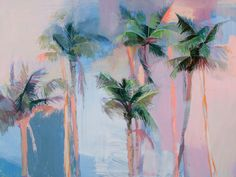Palm Heights by Teil Duncan, 18x24 Print
