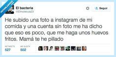 Soy de ésos que subo lo que como a Instagram por @Elmolecula23   Gracias a http://www.vistoenlasredes.com/   Si quieres leer la noticia completa visita: http://www.estoy-aburrido.com/soy-de-esos-que-subo-lo-que-como-a-instagram-por-elmolecula23/