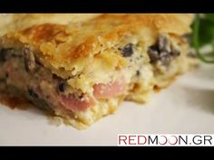 Sweets Recipes, Quiche, Meat, Chicken, Breakfast, Greek, Food, English, Youtube