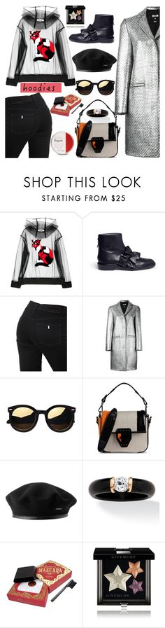 """""""Heads Up! Cute Hoodies"""" by nicolevalents ❤ liked on Polyvore featuring MSGM, STELLA McCARTNEY and Givenchy"""