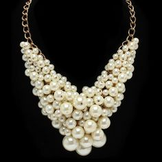 Pree Brulee - Duchess Pearl Statement Necklace