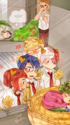 Boku No Hero Academia Funny, My Hero Academia Shouto, My Hero Academia Episodes, Hero Academia Characters, Anime Characters, Hero Wallpaper, Cute Anime Wallpaper, Funny Anime Pics, Cute Anime Guys