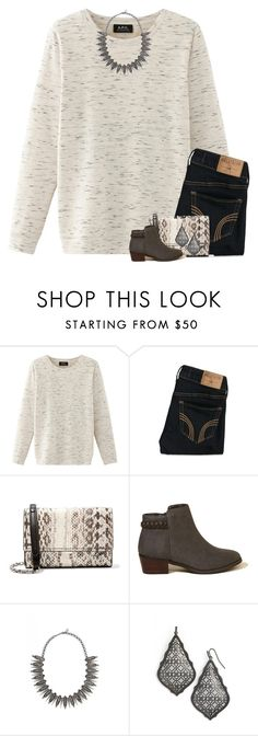 """Seek to understand before seeking to be understood."" by your-daily-prep ❤ liked on Polyvore featuring Nolita, Hollister Co., Michael Kors and Kendra Scott"