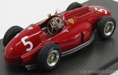 MG-MODEL 43005 Scale 1/43  FERRARI F1  F555 LANCIA ENGINE SPIDER N 5 PRACTICE ARGENTINA GP 1956 J.M.FANGIO RED