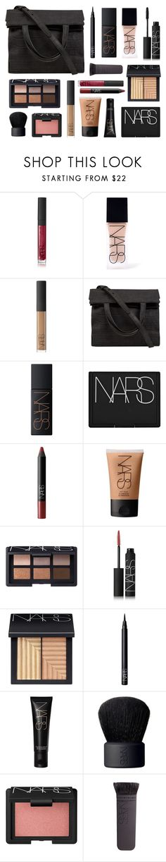 """What's in My Make Up Bag"" by navisya ❤ liked on Polyvore featuring beauty, NARS Cosmetics and Alexander Wang"
