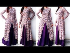 DIY Designer Frontslit Long Gown Maxi Kurti Dress Cutting And Stitching  Tutorial - YouTube 0a9d4f7e0