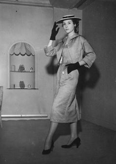 January 1954 #Dior