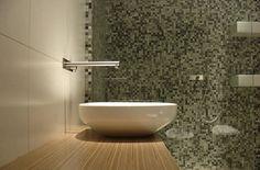 Contemporary bathroom / wood / laminate RESIDENTIAL BATHROOM by Dynamic444, Paços de Ferreira, PT Plexwood