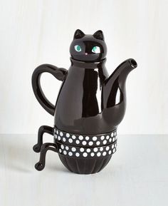 Cat Tea Set For Two