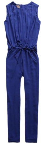 Chendvol Candy Color Retro Drawstring Jumpsuit for Women