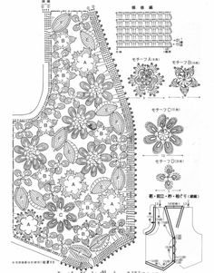 Crochê Tricô - Gráficos: Lindo Colete em Crochê