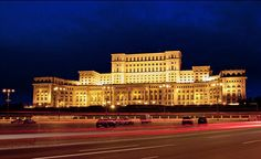 The People's Place in Romania. One of the worlds largest buildings.