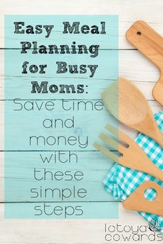 Think you don't have time to write a meal plan? Truthfully you don't have time not to. Come read about 3 simple steps to help you save both time and money. Never wonder what's for breakfast, lunch, dinner or snack again!