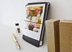 Traveler's Notebook Passport Size (brown) $52 #sketchbook #stationary #Japanese