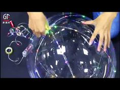 LED Light Up Bubble Balloon With Multi Color Copper Wire String Lights perfect for wedding,holiday and party decorations. Light Up Balloons, Balloon Glow, Bubble Balloons, Helium Balloons, Quinceanera Themes, Led Diy, Glow Party, Crystal Decor, Teen Birthday