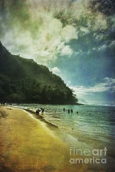 Title  A Day At The Beach   Artist  Belinda Greb   Medium  Photograph - Photograph, Photography, Photographs