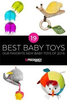 Presenting our favorite new baby toys of 2016, engineered to make your little one giggle, reach, and roll.