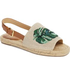 Espadrille Sandals, Espadrilles, Tropical Style, Womens Shoes Wedges, Wedge Shoes, Fisher, Nordstrom, Michael Kors, Palm Print