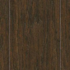 Home Legend Hand Scraped Distressed Lennox Hickory 3/8 in. T x 3-1/2 in. and 6-1/2 in. W x 47-1/4 in. L Click Lock Hardwood Flooring-HL186H ...