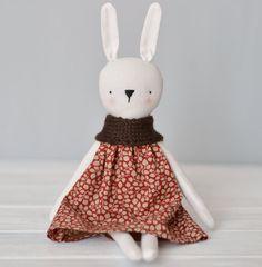 Stuffed Hase Kaninchen Spielzeug Stuffed Tiere Eco von HappyLabToys