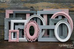 {Colección de Rose City}  Aquí está el flaco:  Este listado está para un reciclado conjunto cuadros de nuestra colección de ciudad rosa. Todos los cuadros varían en tamaños y formas que le da un conjunto único. Las fotos en este anuncio son de conjuntos previamente vendidos y se contabilizan como un ejemplo. Varían sus marcos. Usted elige cuántas y si tambien vidrio/respaldo, y nosotros hacemos el resto.  SELECCIONE LA CANTIDAD DE FOTOGRAMAS Y SI QUIERES CRISTAL Y FORROS EN EL DESPLEGABL...