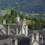 Craveggia's stone roofs. Valle Vigezzo. Photo by Massimiliano Riotti