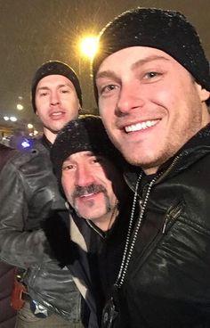 Jon Seda, Elias Koteas, & Jesse Lee Soffer