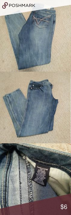 Vanilla star jeans Perfect condition jeans by Vanilla star in size 13. Skinny style. Vanilla Star Jeans Skinny