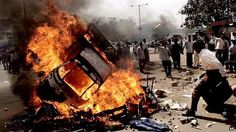 Riots Around The World | images of the 2002 gujarat riots flashed around the world