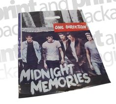 One Direction  | Patch Handle Carrier Bags