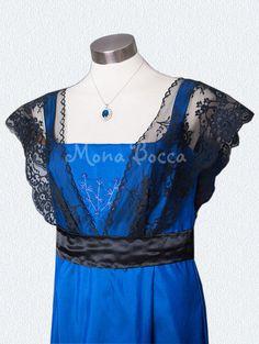 Plus size edwardian dress